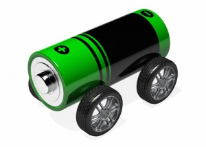 automobile battery  3d alternative