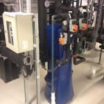 Filterets virkemåte i en EnwaMatic vannbehandler