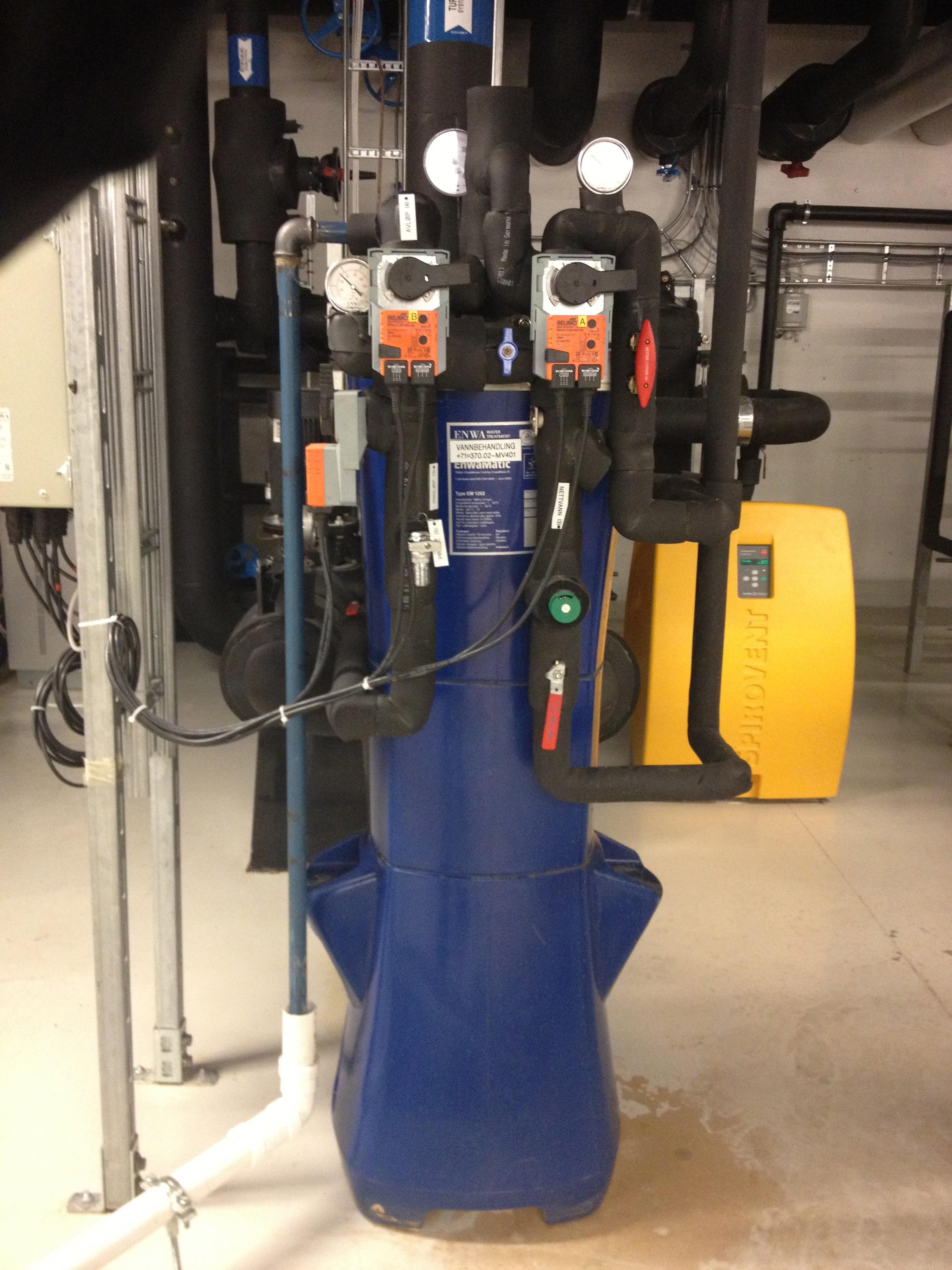 EnwaMatic automatisk vannrenseanlegg