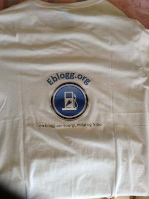 eblogg t-skjorte