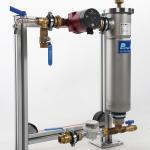Pentex filterstasjon for varme- og kjøleanlegg